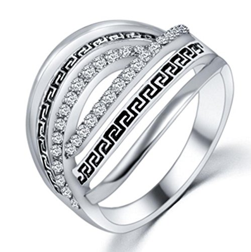SaySure - Rings Elements Crystals bridal sets Finger Lord of the Rings (SIZE : 9)