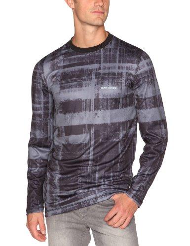 Quiksilver Tex-Dune Top T-Shirt respirant à manches longues homme Blurred Plaid M
