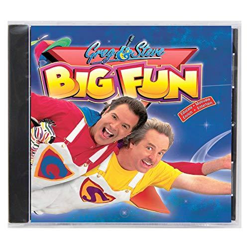 Greg & Steve Productions YM-016CD Greg & Steve: Big Fun CD