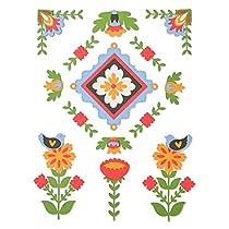 Save on Sizzix Troquel Sizzix Thinlits Die Set 18 piezas - Elementos estilo Folk and more