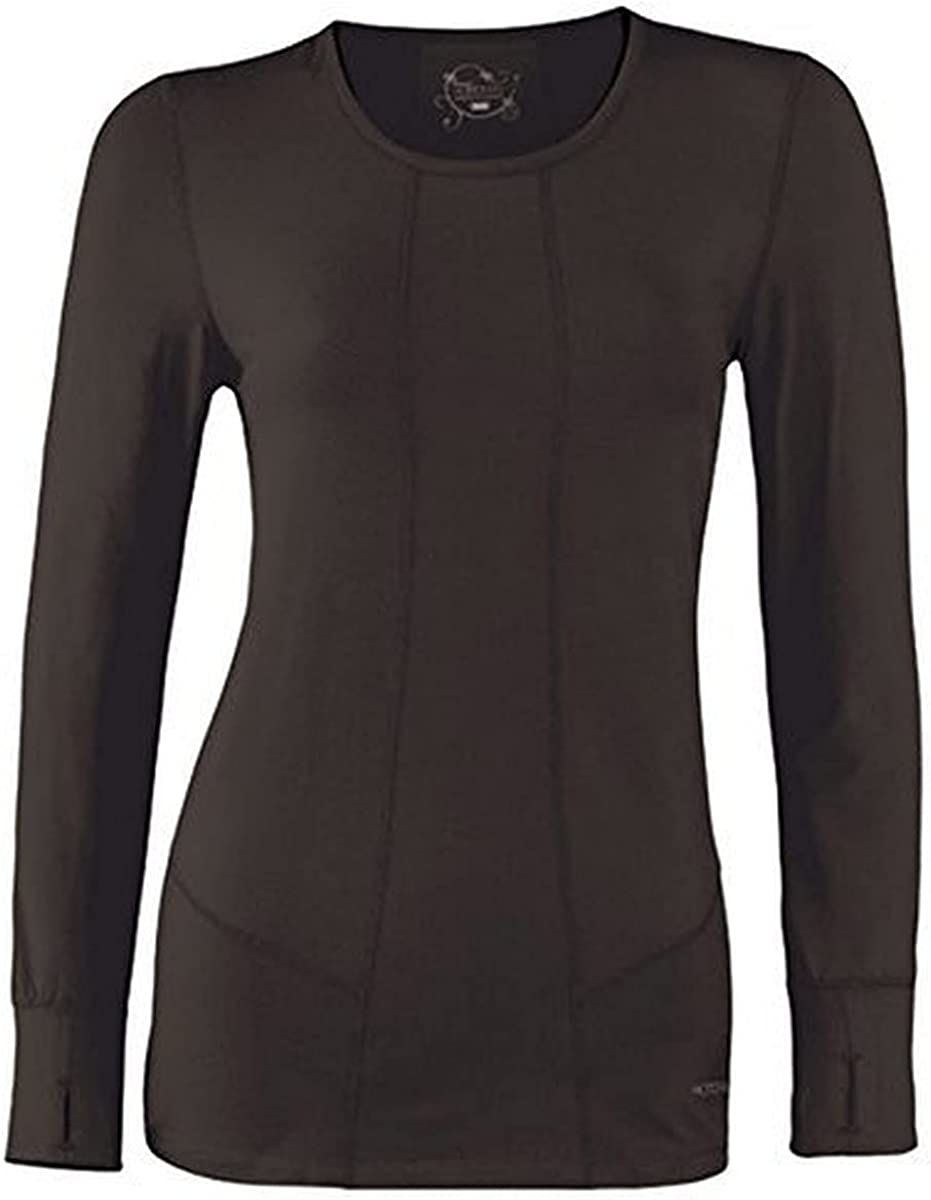 Terramar Cloud Nine 4-Way Stretch Scoop Long Brushed Neck Sleeve New product type Max 84% OFF