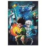 Hunter Anime Poster Classic Hot Anime Poster Kunst
