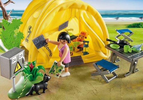 Tente de Camping Playmobil pour la Famille 5435 - 4