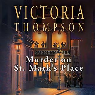 Murder on St. Mark's Place audiobook cover art