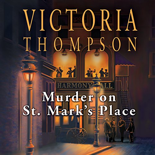 Murder on St. Mark's Place audiobook cover art