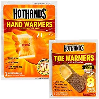Hot Hand & Toe Warmers (2) toe and (10) hand