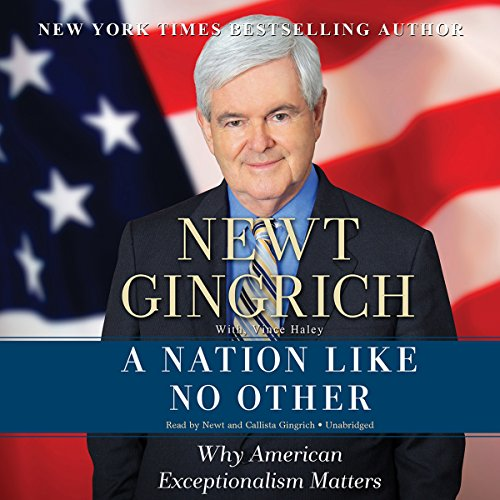 A Nation Like No Other audiobook cover art