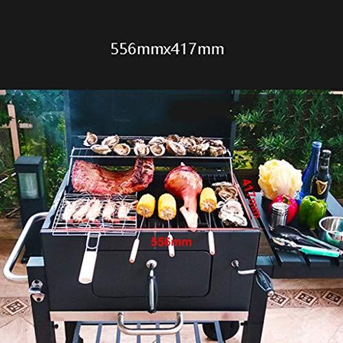 51iD8rH4 3L - ChangDe - Weber Holzkohlegrills BBQ Grill - Verdicken Sie tragbare Grillhausgarten Holzkohle große kommerzielle rauchlose Grillauto im Freienvilla