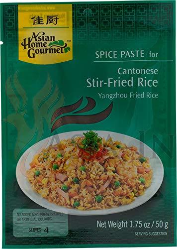 Asian Home Gourmet Würzpaste für gebackenen Reis nach Kantonesicher Art50g