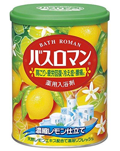 アース製薬 バスロマン 濃縮レモン仕立て 缶850g [2015]