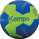 Kempa Leo-Ballons de Handball Taille 0 Adulte Unisexe, Vert Printemps/Azur, 0