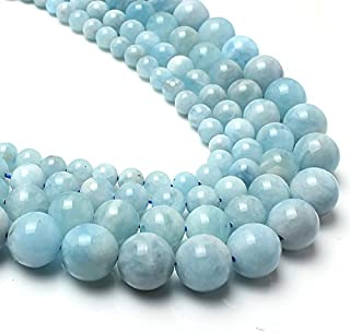 aquamarine rondelle beads