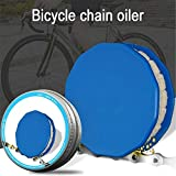 Bike Chain Oiler,Bicycle Roller Chain Oiler Lubricating Cycling Gear Roller Cleaner Lubricant W/Magnet Bicycle Chain Repair Tools Bike Accessorie