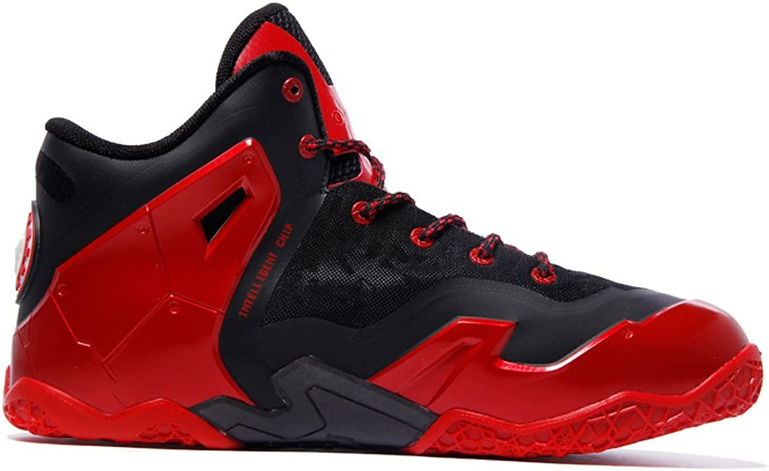 JDshoes Men's Black Red King Basketball shoes