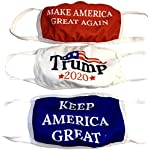 Corona Virus protection products Trump Face Mask 3-PACK | Reusable & Washable Anti Dust Mouth Fashion Balaclava