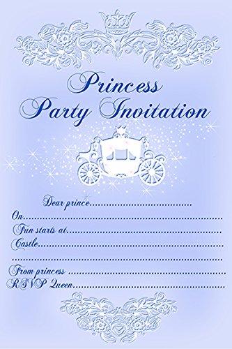 10 x enfants Invitations Fête d'anniversaire