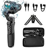Hohem GoPro Gimbal Stabilizer, iSteady Pro 2, 3 Axis Splash-Proof Gimble IP64, Handheld Stabiliser for DJI Osmo Action,GoPro Hero 7/6/5/4/3,SJCam,YI 4K Action Camera (can not Support gopro 8)