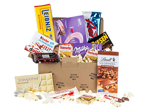 BOX n°2 - Scatola di dolciumi e cioccolatini tedeschi