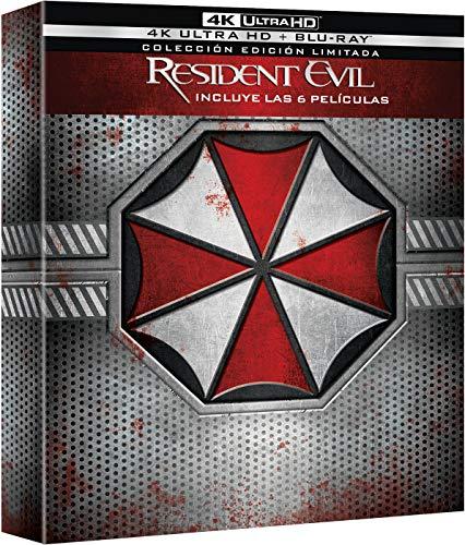 Resident Evil 1-6 (4K UHD + BD) (Ed. Especial Digipack) [Blu-ray]