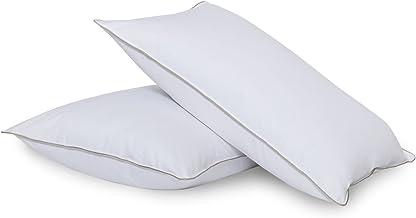 وسائد سرير للنوم - وسائد بمقاس قياسي، تصميم بديل للوسادة في الوسادة، وسادة داخلية إضافية الدعم، مثالية للجانب والمبطن والظهر
