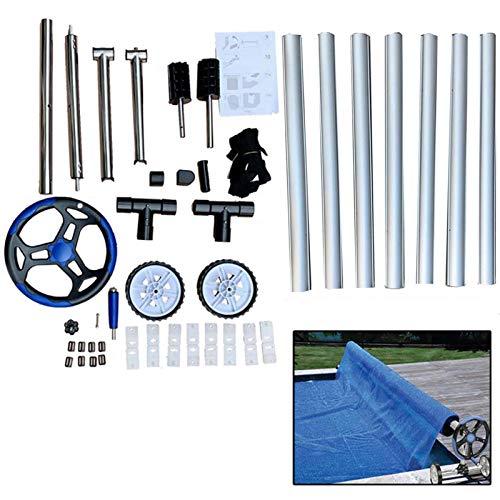 TABODD - Juego de herramientas de aluminio para cubrir piscinas de hasta 21 pies
