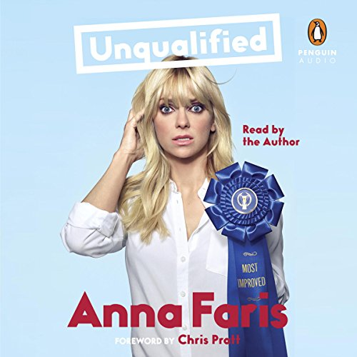 Unqualified audiobook cover art