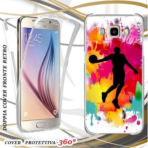 Custodia Cover Case Basket per Samsung Galaxy J5 2016 Front Back