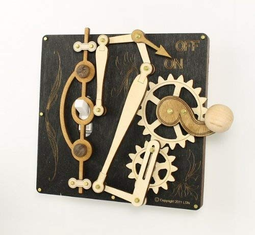 Steampunk Light Switch Plate