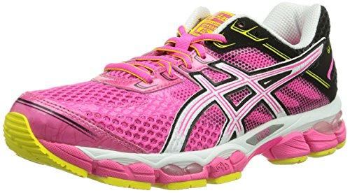 Asics GEL-CUMULUS 14 T3C4N-3400 Damen Laufschuhe, Pink (Rose), 37 (UK 4) (US 6)