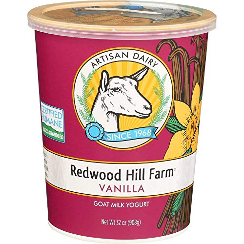 Redwood Hill Farm Vanilla Goat Milk Yogurt, 32 Ounce -- 6 per case.
