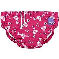 Bambino Mio, pañal bañador, flamenco rosa, mediano (6-12 meses)