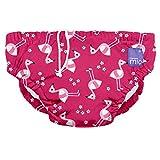 Bambino Mio SWPSPKFL Costumino Contenitivo Mutande Contenitive da Nuoto, 0 - 6 Mesi, Multicolore (Fenicottero Rosa)
