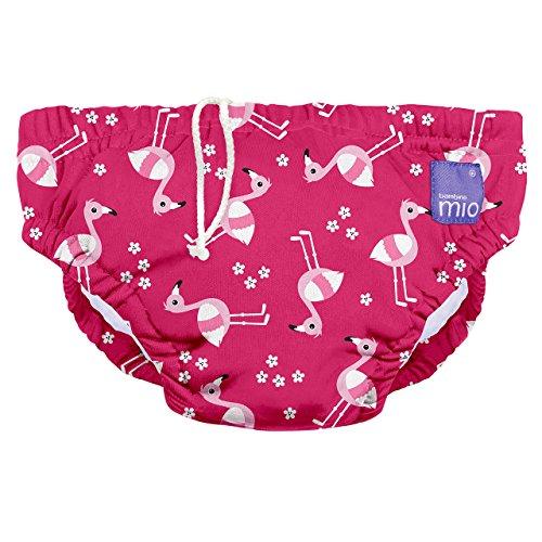 Bambino Mio, wiederverwendbare schwimmwindel, flamingo-pink, M (6-12 Monate)