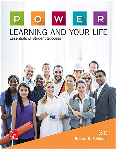 Compare Textbook Prices for P.O.W.E.R. Learning and Your Life: Essentials of Student Success 3 Edition ISBN 9780077842178 by Feldman, Robert