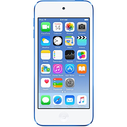 Apple iPod Touch 32GB Blue (6th Generation) MKHV2LL/A (Renewed)