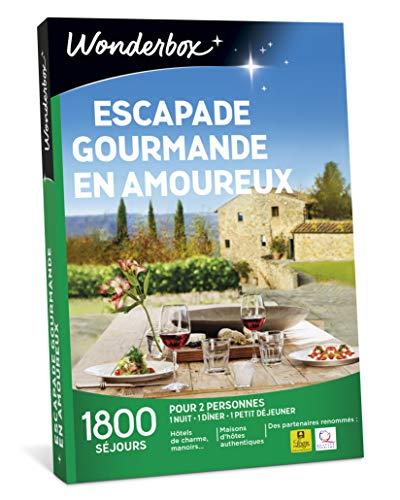 Wonderbox – Coffret cadeau - ESCAPADE GOURMANDE EN...