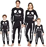 Herimmy Family Matching Halloween Skeleton Pajamas...