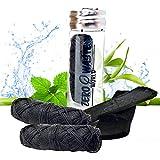 Hilo Dental de Carbón de Bambú Natural Ecológico - Hilo,...
