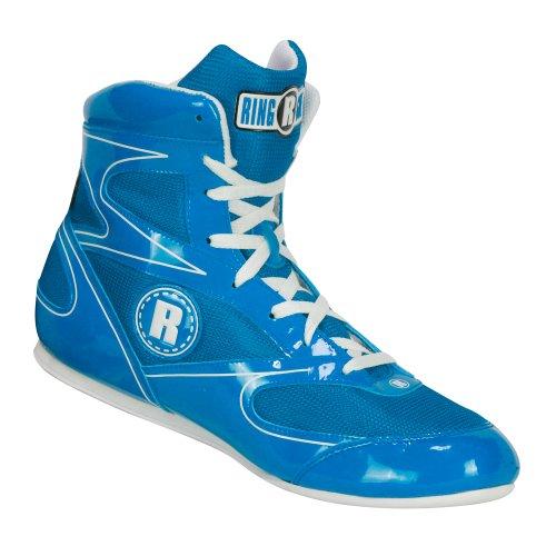 Ringside Diablo Wrestling Boxing Shoes, 2, Blue