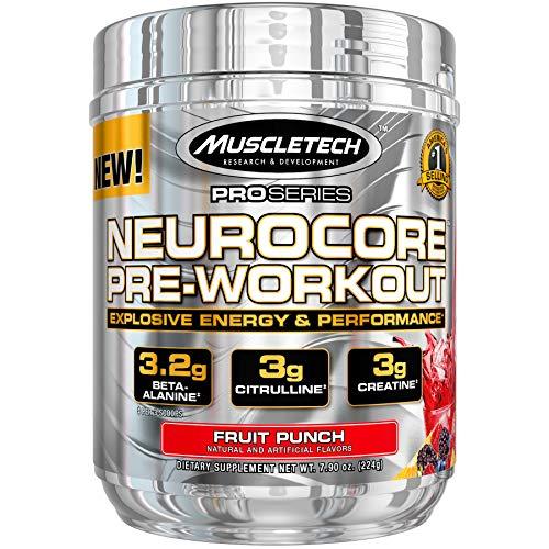 Muscletech Neurocore, 50 Servings, Fruit Punch, 225 g
