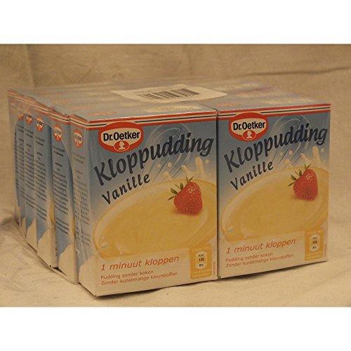 Dr. Oetker Kloppudding Vanille 12 x 74g Packung (kalter Vanillepudding)
