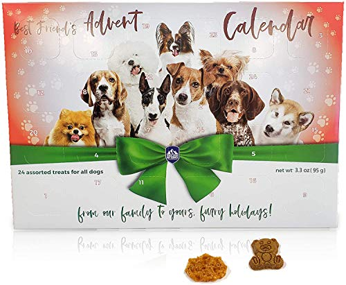Best Friend's Advent Calendar | 24 Unique Treats for All Dogs | 24 Days of Treats from Washington State