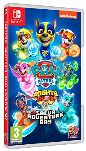PAW Patrol Mighty pups: Salva Adventure Bay - Nintendo Switch
