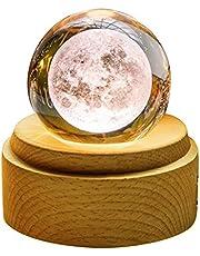 オルゴール プレゼント Tengis クリスタル ボール 間接照明 おしゃれ インテリア 雑貨 置物 かわいい 文鎮 ペーパーウェイト 結婚祝い プレゼント 投影効果