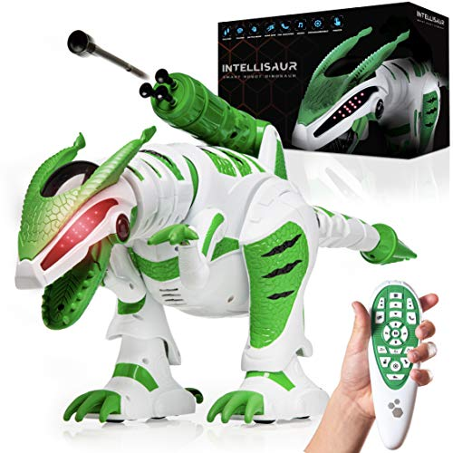 Power Your Fun Intellisaur Remote Control Dinosaur Toy Robot for Kids -...