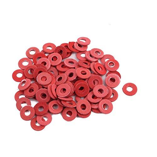 Stahl Flachkissen Isolierscheiben Rotes Papier Meson Dichtung Isolierendes