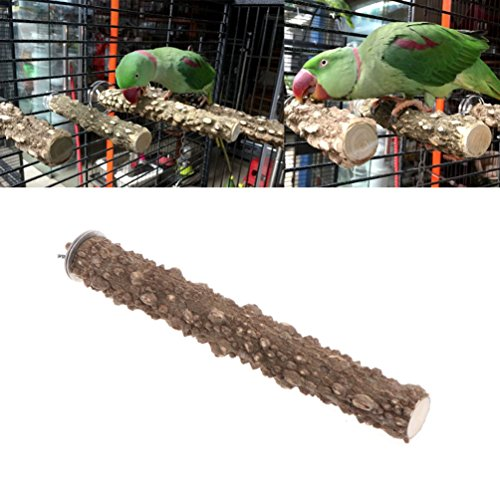 Keersi - Percha lima uñas de madera para jaula de pájaros 🔥