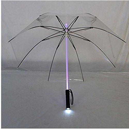 Well-Goal Blade Runner LED-Regenschirm, Nachtschutz