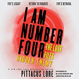 I Am Number Four audiobook cover art