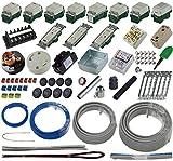 準備万端 (1回練習分) 第二種電気工事士技能試験練習用材料 「全13問分の器具・電線セット」
